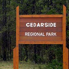 Cedarside Regional Park