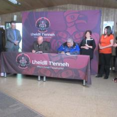 Agreement with Lheidli - fire service for Shelley